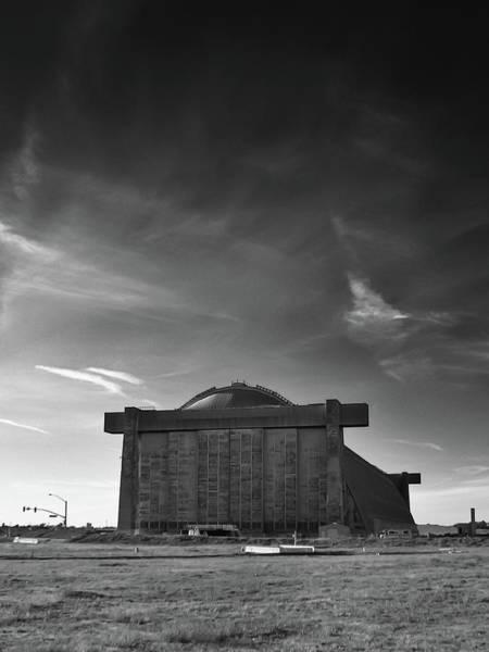 Photograph - Blimp Hangar At Tustin by Guy Whiteley