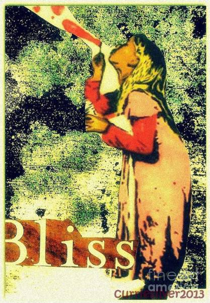 Digital Art - Bliss by Currie Silver