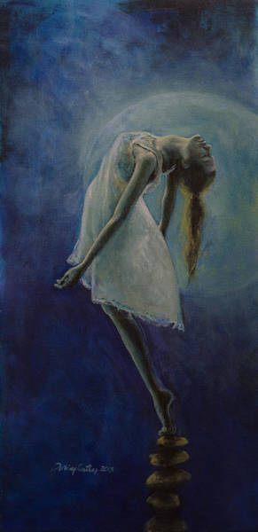 Bliss Wall Art - Painting - Bliss by Dorina  Costras