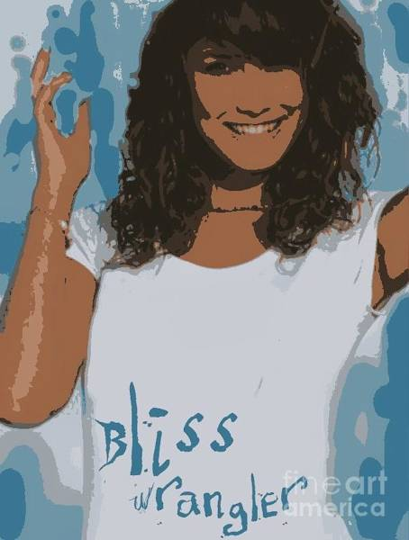 Wiese Digital Art - Bliss Wrangler by Wendy Wiese