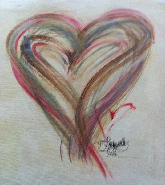 Painting - Blissful Heart by Marian Palucci-Lonzetta