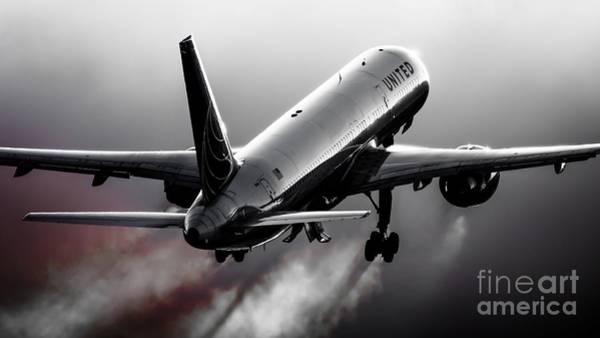 Aircraft Photograph - Blistering Performance by Alex Esguerra