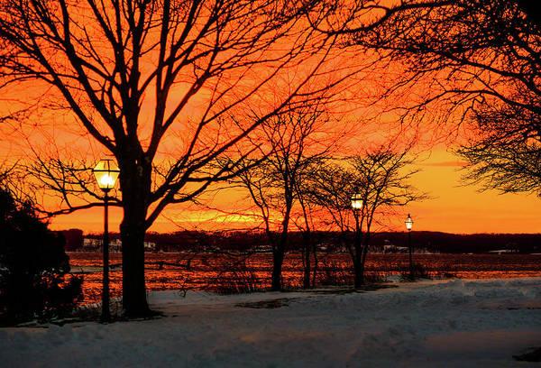 Offbeat Photograph - Blizzard Barrels Into Northeastern U.s by Andrew Theodorakis