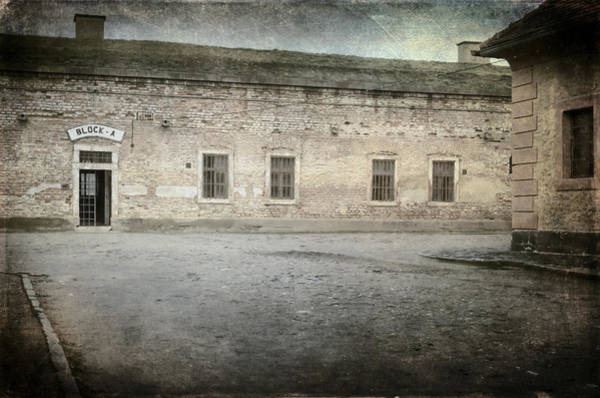 Holocaust Photograph - Block A by Joan Carroll