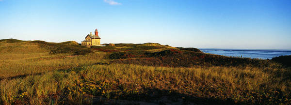 Sentry Wall Art - Photograph - Block Island Lighthouse Rhode Island Usa by Panoramic Images