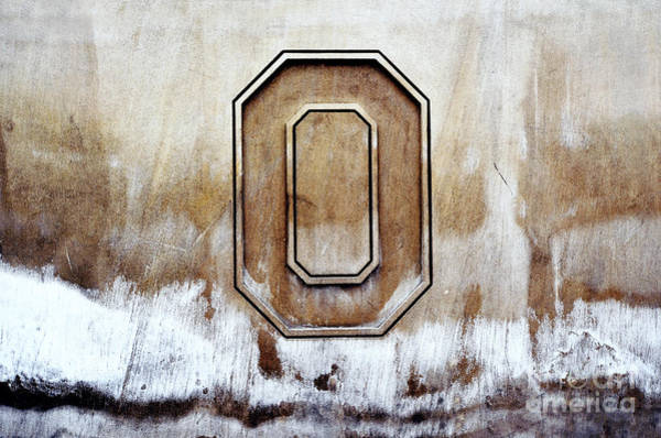 Ohio State University Photograph - Block O by Rachel Barrett