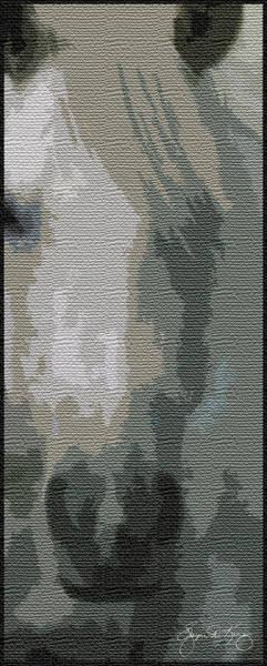 Photograph - Blonde Cutout by Wayne King