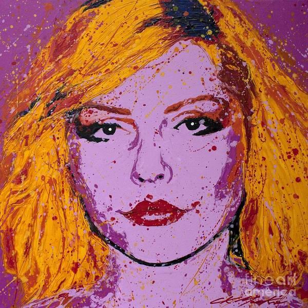 Blondie Wall Art - Painting - Blondie by CK Mackie