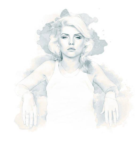 Blondie Digital Art - Blondie by Kurt Ramschissel