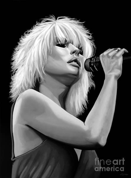 Blondie Wall Art - Mixed Media - Blondie by Meijering Manupix