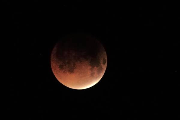 Photograph - Blood Moon by Bradford Martin