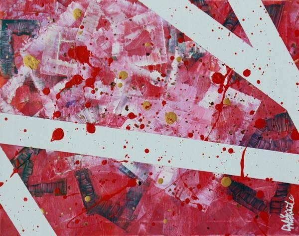 Blood On The Leaves Art Print