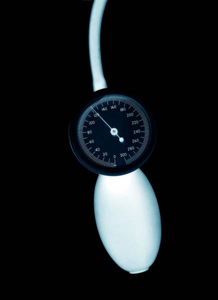 Blood Pressure Wall Art - Photograph - Blood Pressure Gauge by Science Photo Library