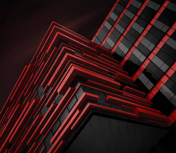 Facade Photograph - Blood Stream by Nadav Jonas