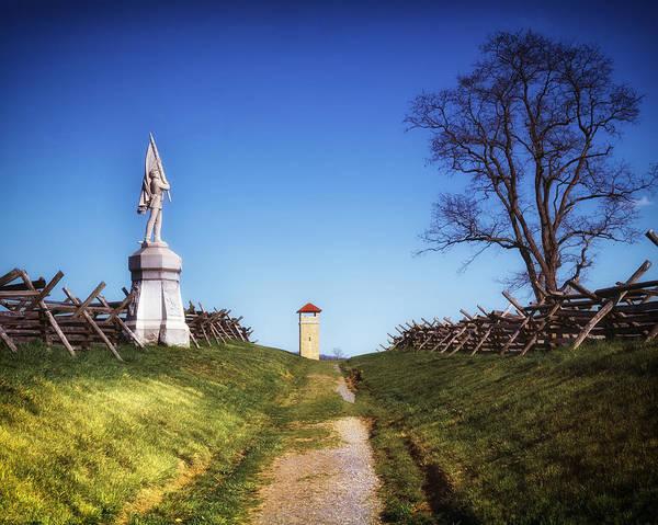 Antietam Battlefield Photograph - Bloody Lane - Antietam Battlefield by Mountain Dreams