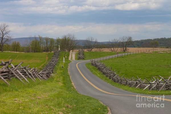 Antietam Photograph - Bloody Road Antietam by Thomas Marchessault