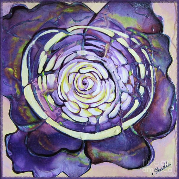 Wall Art - Painting - Bloom Iv by Shadia Derbyshire