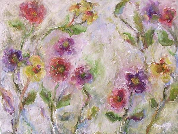Painting - Bloom by Mary Wolf