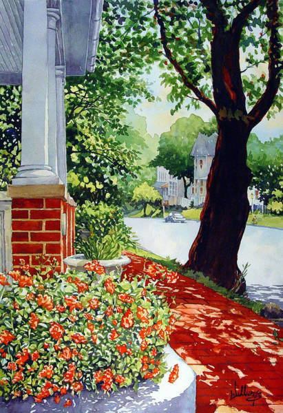 Blooming Tree Painting - Bloom by Mick Williams