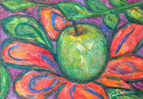 Painting - Blooming Apple by Kendall Kessler