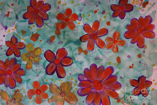 Painting - Blooming Buds by Jacqueline Athmann