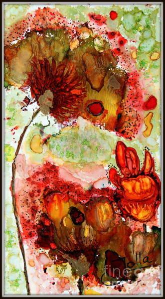 Painting - Blooming Impressions.. by Jolanta Anna Karolska
