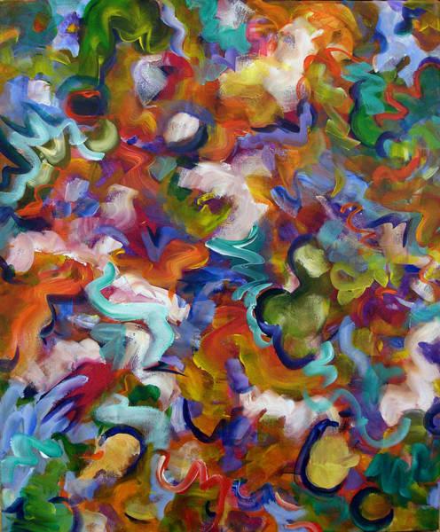 Painting - Blooming Joy by Lynda Lehmann