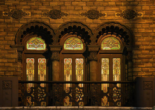Wall Art - Photograph - Bloomingdale's At Home In Chicago's Medinah Temple by Christine Till