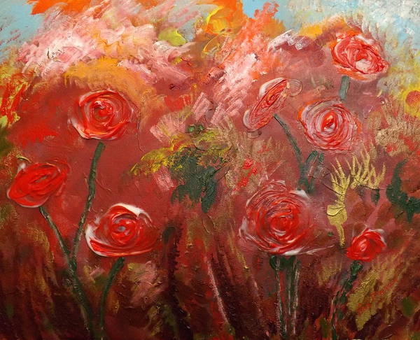 Wall Art - Painting - Blooms by Rich Mason