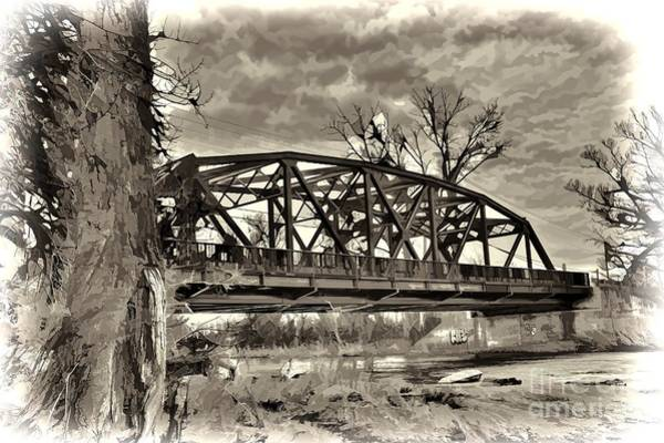 Photograph - Blossom Arched Bridge by Jim Lepard