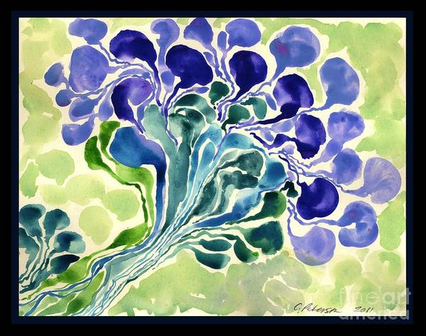 Utilitarian Painting - Blossom Of Spring by Cathy Peterson