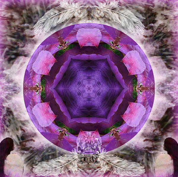 Mixed Media - Blossoming by Alicia Kent