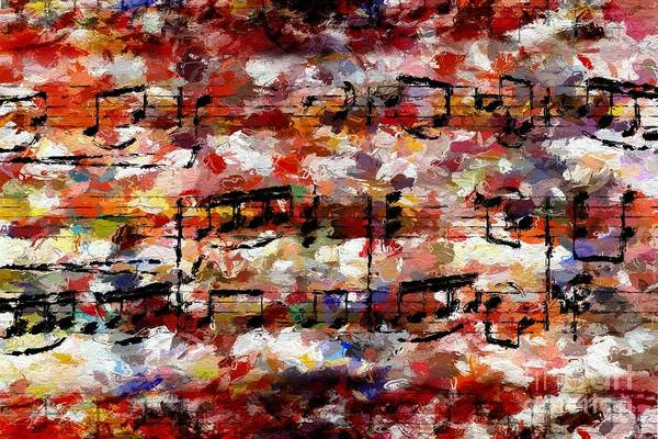 Digital Art - Blotched Up Divertimento 2 by Lon Chaffin