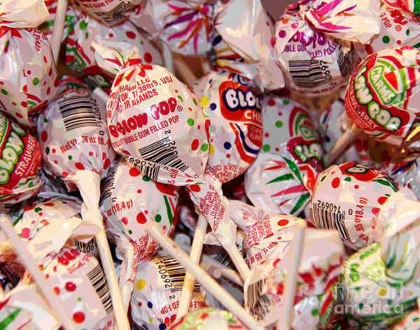 Photograph - Blow Pops by Larry Oskin