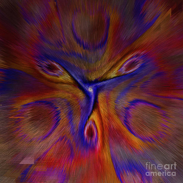 Digital Art - Blow Your Mind by Deborah Benoit
