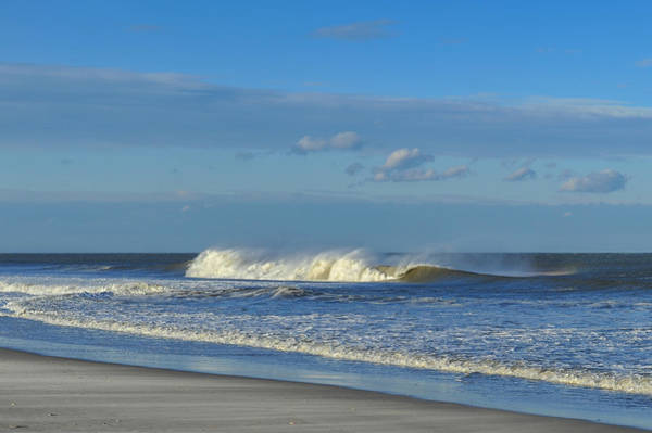 Photograph - Blowin' In The Wind Seaside Heights New Jersey by Terry DeLuco