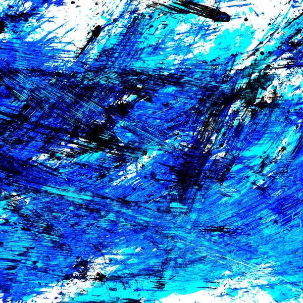 Illustration Wall Art - Photograph - Blu Abstract 4 by Jason Michael Roust