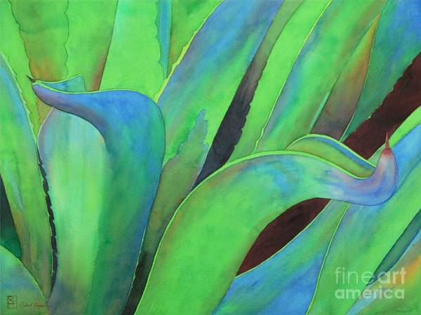 Agave Painting - Blue Agave by Robert Hooper