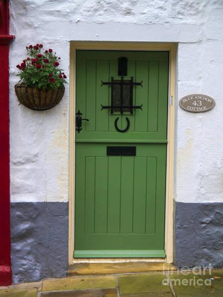Grassington Photograph - Blue Anchor Cottage by Gillian Singleton