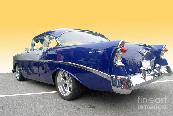 Photograph - Blue And Silver Chevrolet by Bill Thomson