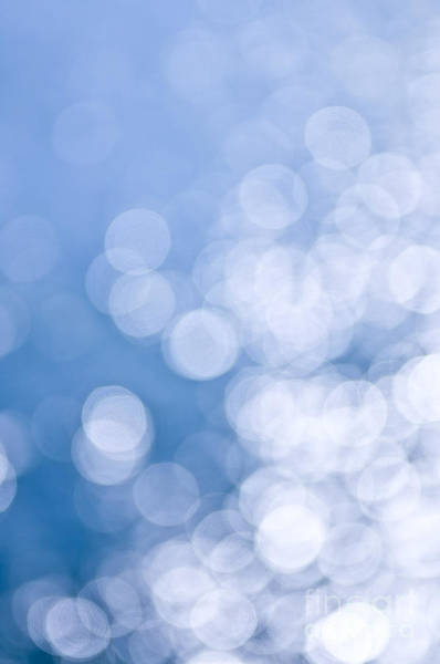 Wall Art - Photograph - Blue And White  by Elena Elisseeva