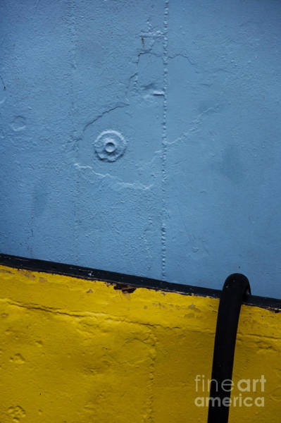 Photograph - Blue And Yellow by Agnieszka Kubica