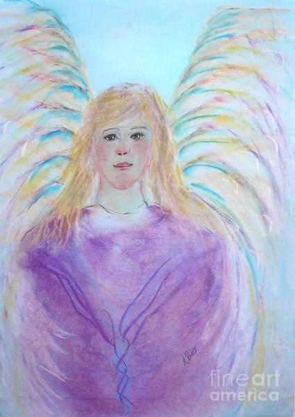 Painting - Blue Angel by Karen Jane Jones