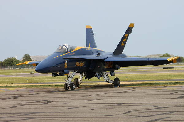 Wall Art - Photograph - Blue Angels Before The Show by French Toast