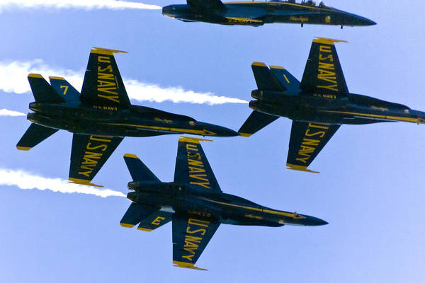 Photograph - Blue Angels II by Greg Reed