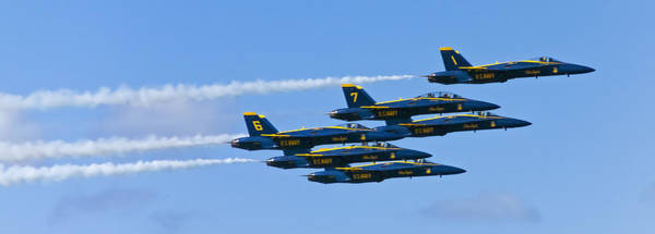 Photograph - Blue Angels IIII by Greg Reed