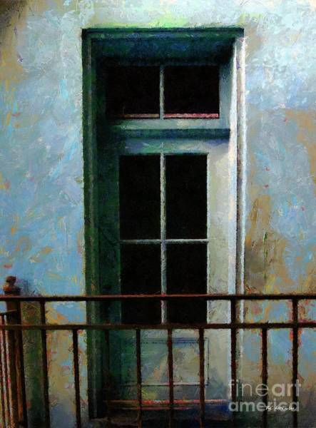 Painting - Blue Balcony by RC DeWinter