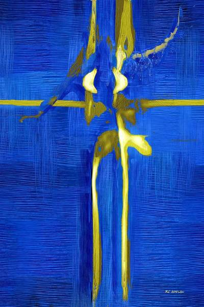 Painting - Blue Ballerina by RC DeWinter