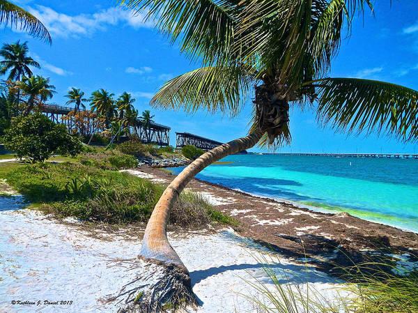 Bahia Honda Photograph - Blue Beach Day by Kathleen J Daniel