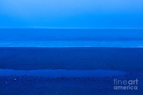 Photograph - Blue Beach by Susan Cole Kelly